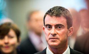 Le Premier ministre Manuel Valls, lors du congrès de l'Association des Régions de France à Toulouse, le 10 octobre 2014.