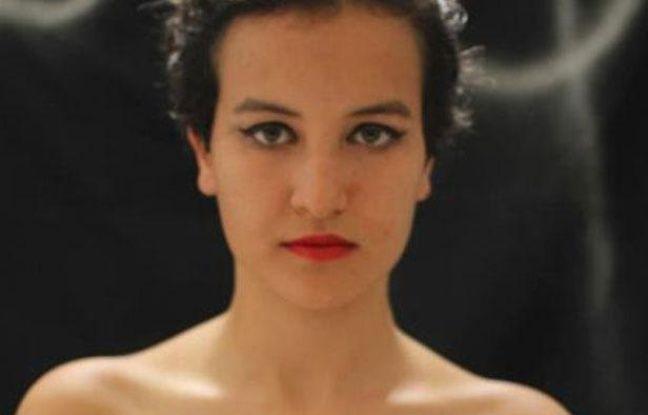 Capture d'écran de la photo d'Amina Tyler publiée le 16 mars 2013 sur la page Facebook Femen France.