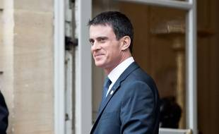 Manuel Valls à Paris le 30 novembre 2015.