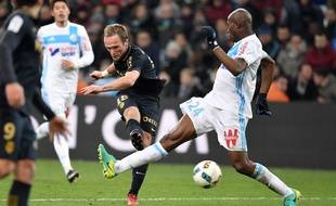 Les matchs contre Monaco, de sales souvenirs pour la défense marseillaise.