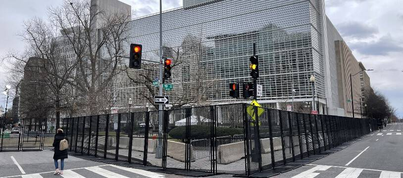 Le siège de la Banque mondiale, à Washington. (illustration)