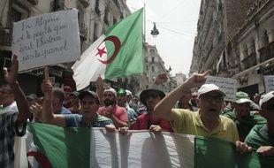 Manifestation à Alger contre le gouvernement, le 2 août 2019 (illustration).