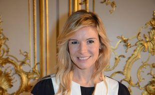 Louise Ekland, à Paris, en 2015.
