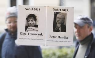 Les prix Nobel de littérature 2018 et 2019 ont été décernés à Olga Tokarczuk et Peter Handke.