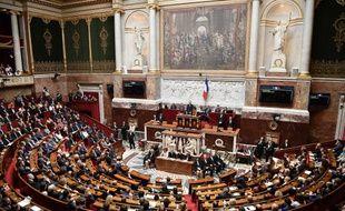 Les députés à l'Assemblée nationale - Illustration