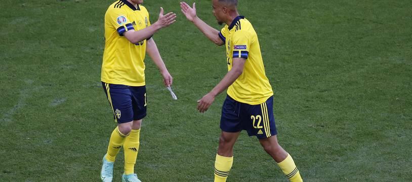 Forsberg et Isak, les attaquants suédois.