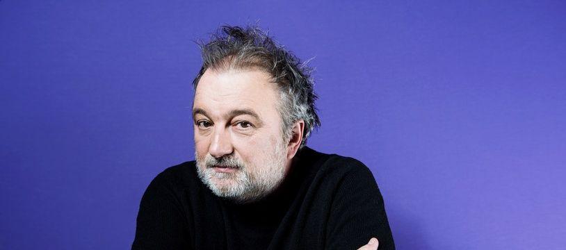 Denis Robert, journaliste et ecrivain francais.