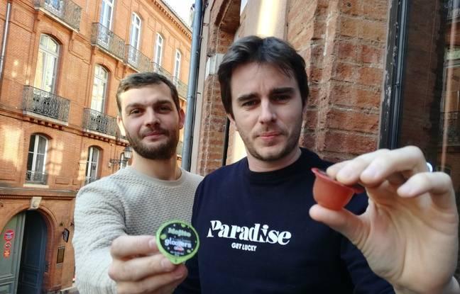 Laurent Sicard et Joffrey Tristan, les deux fondateurs de la société