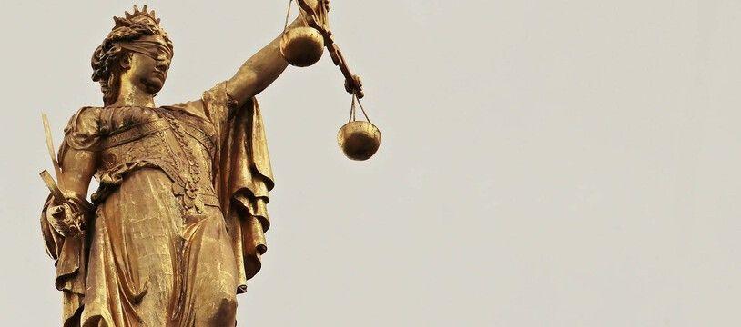 Illustration de la justice. .