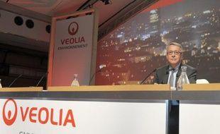 Veolia Environnement a décidé de miser sur l'essor de la méthanisation, un procédé naturel de fermentation de la matière organique, qui produit à la fois de l'électricité et un fertilisant, avec la mise en route d'un nouveau site, près d'Arras (Pas-de-Calais), inauguré mardi.