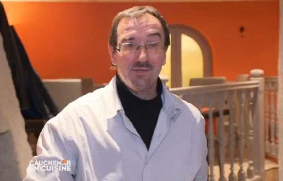 Jean-Michel Rétif dans l'émission «Cauchemar en cuisine» sur M6. – Capture d'écran/M6