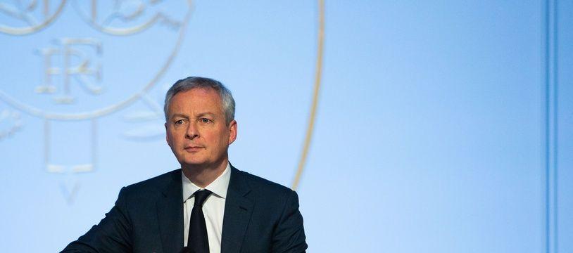 Bruno Le Maire est ministre de l'Economie depuis mai 2017.