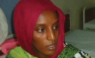 La Soudanaise chrétienne Meriam Yahia Ibrahim Ishag, condamnée à la pendaison pour apostasie, en prison à Omdurman, le 28 mai 2014