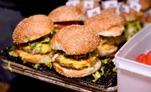 Illustration de burgers