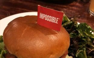 Un «burger impossible» de la marque Impossible Foods (illustration).