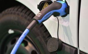 Une voiture électrique (illustration).