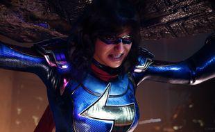 La jeune super-héroïne Ms. Marvel est le personnage central du jeu «Marvel's Avengers»