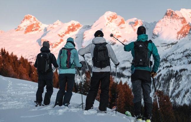La pratique du ski de rando séduit de plus en plus de jeunes, et de femmes, depuis quelques années.