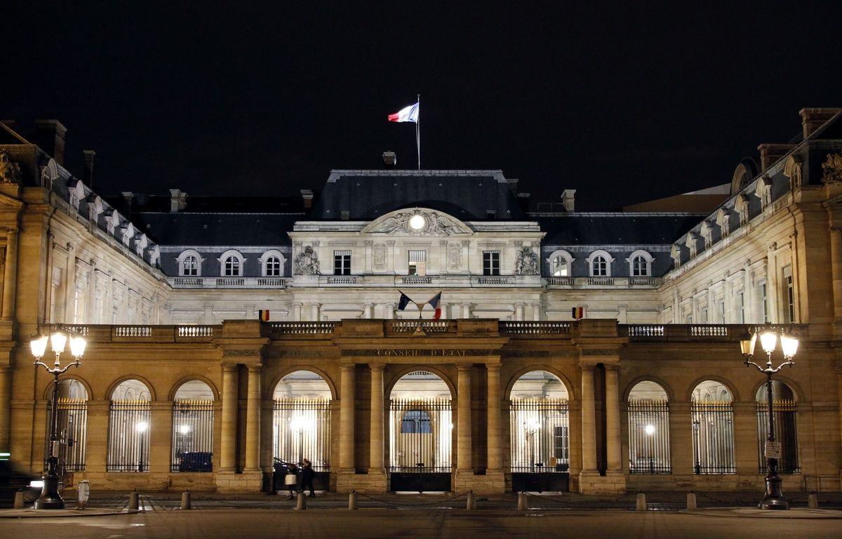 Le Conseil d'Etat, place du Palais Royal à Paris, le 6 février 2014. – LUDOVIC MARIN / AFP