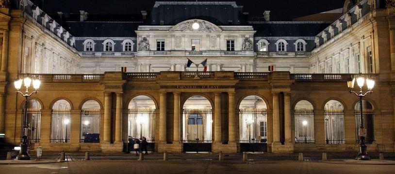Le Conseil d'Etat, place du Palais Royal à Paris, le 6 février 2014.