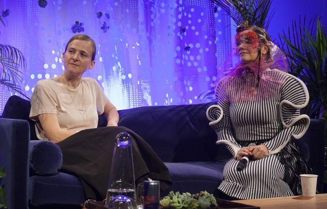 Björk a donné une conférence le 26 novembre 2016 à l'occasion de la RBMA à Montréal