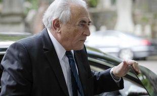 Dominique Strauss-Kahn à Paris le 3 juin 2013