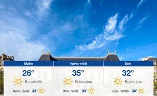 Météo Rennes: Prévisions du vendredi 7 août 2020