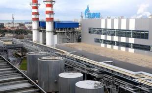 La centrale thermique Adler du groupe gazier russe Gazprom à Sotchi sur la mer noire, le 30 novembre 2013