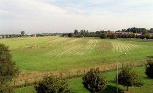 Photo prise le 15 septembre 2000 sur le plateau de Saclay, au sud-ouest de Paris