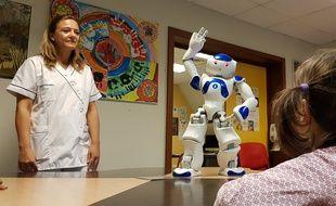 VIDEO. Strasbourg: Le robot Nao donne un coup de main pour la rééducation des enfants