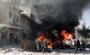 Au moins 46 civils, dont des femmes et des enfants, ont été tués samedi par des barils d'explosifs largués par l'armée sur Alep en Syrie où plus de 136.000 personnes ont péri depuis le début du conflit en mars 2011.