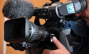 Une caméra de France 3 (Illustration).