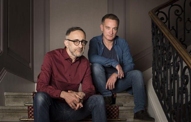 Fred Neidhardt et Fabrice Tarrin, scénariste et dessinateur du nouveau Spirou