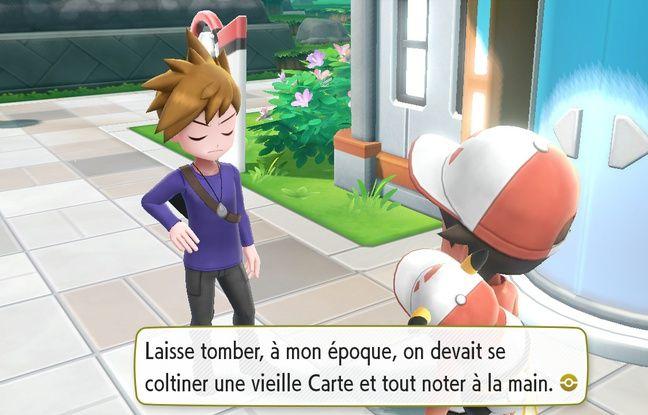 Contrairement à Pokémon Go, Let's Go propose une véritable aventure avec des dialogues.