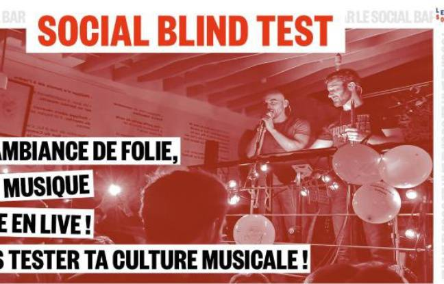 Visuel du Social Blindtest du Social Bar