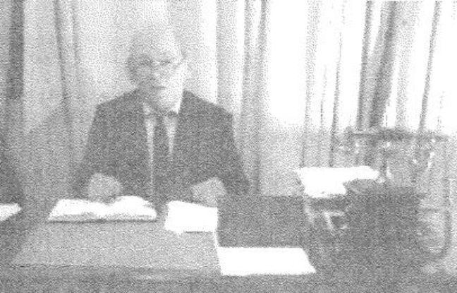 Capture d'écran d'une vidéo avec le faux ministre de la Défense, en mars 2017