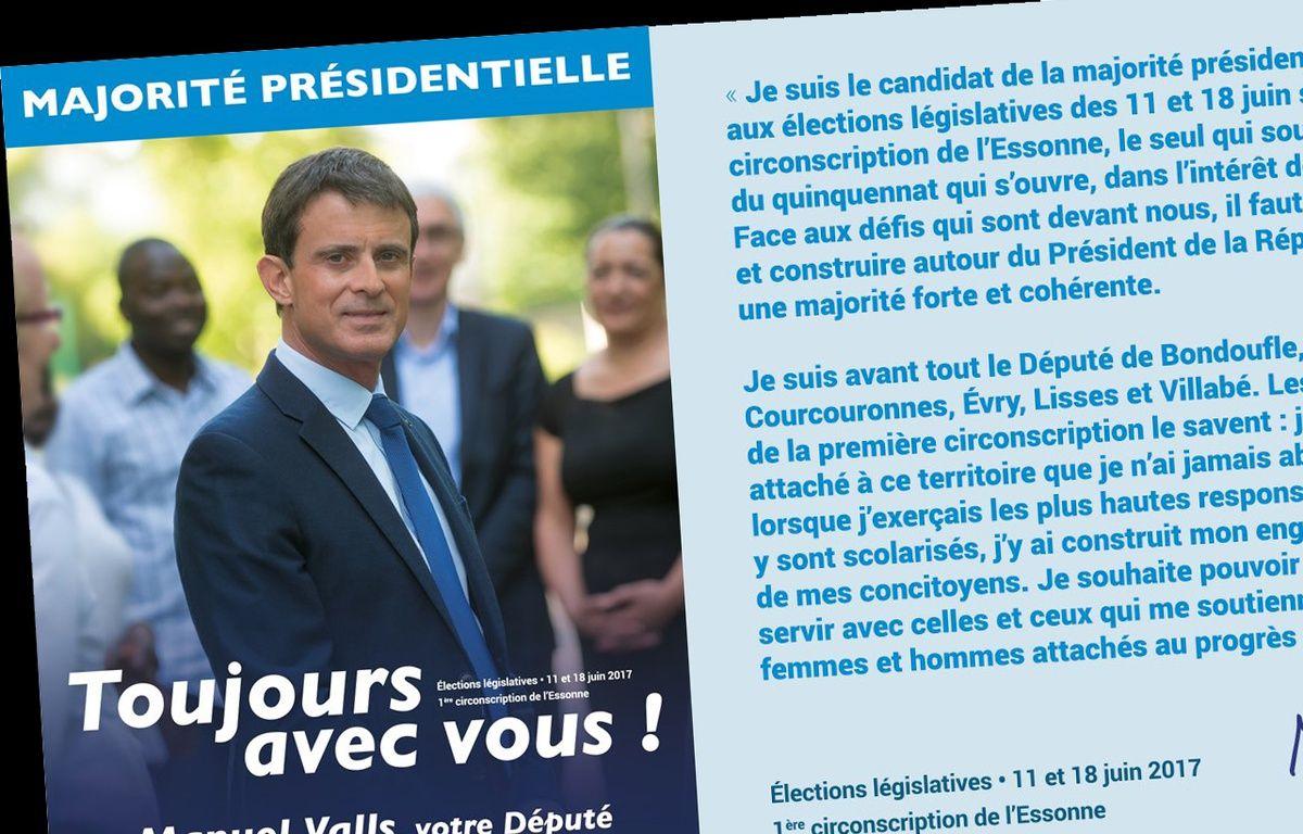 L'affiche tweetée par Manuel Valls – Twitter