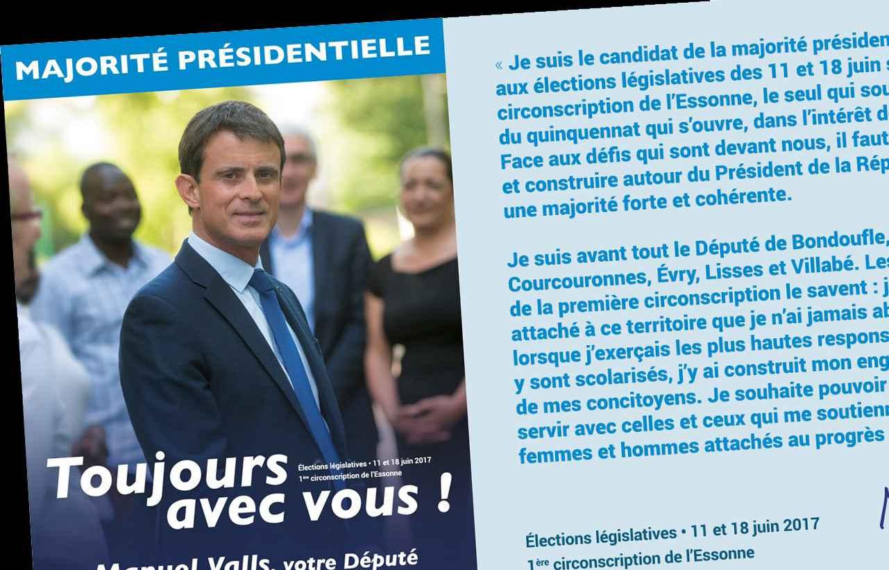 L'affiche tweetée par Manuel Valls