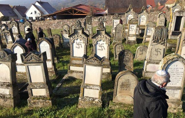 «Affreux», «immonde»... A Westhoffen, les habitants consternés après la profanation du cimetière juif