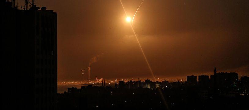 La bande de Gaza.