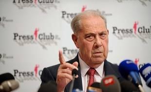 Charles Pasqua, en novembre 2009