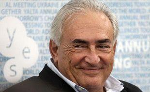 Dominique Strauss-Kahn lors de la conférence anuelle «Yalta European Strategy», en Ukraine, le 14 septembre 2012