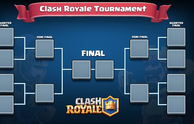 A l'instar d'un Hearthstone, Clash Royale est un titre idéal pour des compétitions e-sport.