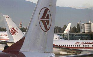Des avions de la compagnie Air Algérie.