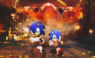 «Sonic Forces», un des deux nouveaux jeux «Sonic» de 2017
