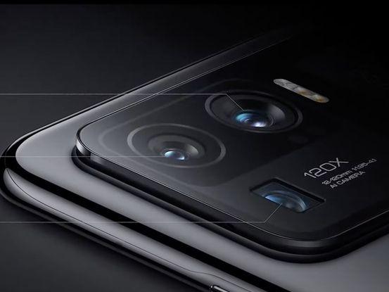 Xiaomi's Mi 11 Ultra rear photo module.