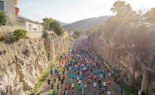 La course Marseille-Cassis en 2014