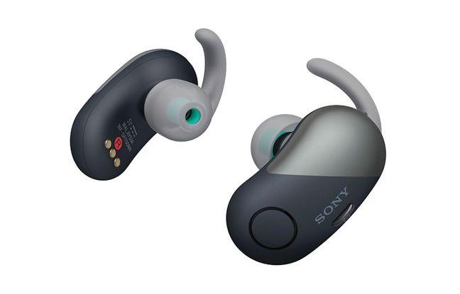Les WF-SP700N , de Sony.