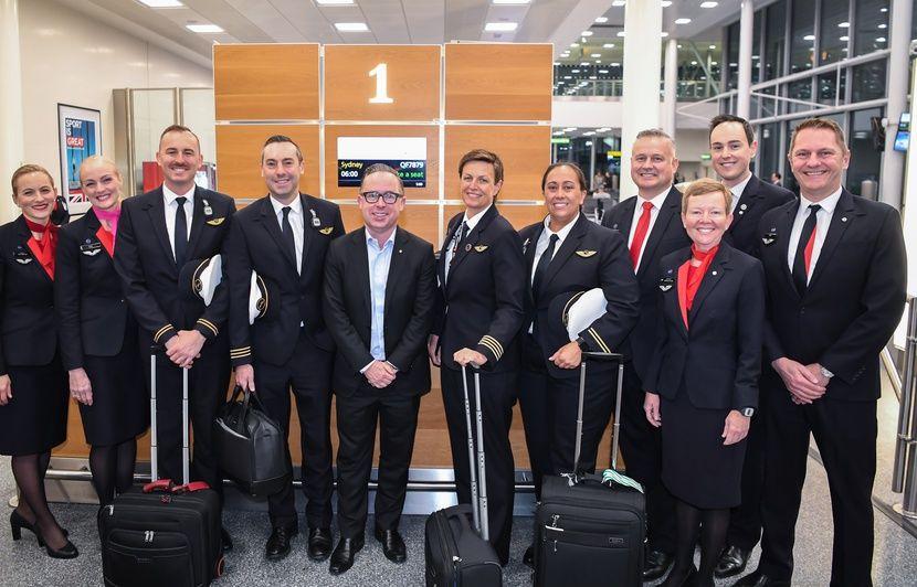 Qantas Airways : Un premier vol direct relie Londres à Sydney en 19 heures, un record mondial