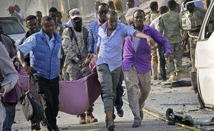 Attentat à la bombe le 14 octobre 2017 à Mogadisho en Somalie